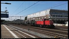 DBC 6466, Sittard - 24-04-2019 (Teun Lukassen) Tags: db cargo 6400 6466 mvv militair vervoer sittard