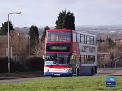 BX02AVG - Moor Lane, Old Hill, February 2014. (Iveco 59-12) Tags: nationalexpresswestmidlands nxwm westmidlandstravel travelwestmidlands dennistrident alexanderalx400 bx02avg 4352
