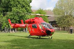 London's Air Ambulance in Willesden (kertappa) Tags: img6364 air ambulance londons london hems doctor paramedics hospital gehms emergency helicopter kertappa willesden st marys