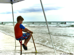 Watching the Waves (Alfredo Rafael) Tags: mexicobeach panhandle florida