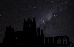 Whitby-Abbey_9837-stars (Peter Warne-Epping Forest) Tags: whitbyabbey whitby yorkshire stars milkyway peterwarne