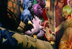 Mermaids Casino, Downtown Las Vegas (Roger Gerbig) Tags: lasvegas downtown fremontstreet nevada rogergerbig canonf1 canonfd35105mmf35 kodachrome64 kr64 slidefilm 135film 35mm transparencyfilm fremontstreetexperience mermaidscasino