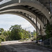 under the Detroit Avenue Bridge at Irishtown Bend - Cleveland