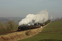 Double header (Jacobite52) Tags: 8f 48151 35018 bil britishindialine wcrc lms southern railway train steam mainlinesteam