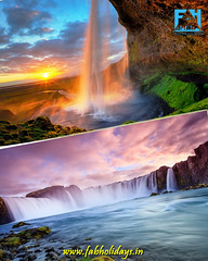 🌊🌊The Awesome Seljalandsfoss Waterfall of Iceland🌊🌊 (fabholidays) Tags: