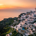 Sunset in Oia - Santorini, Greece - Travel photography