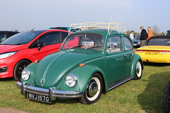 Volkswagen Beetle 1300 NVJ157G (Andrew 2.8i) Tags: haynes museum sparkford classic car cars classics breakfast meet show german saloon sedan aircooled cooled air vw bug 1300 type1 beetle volkswagen