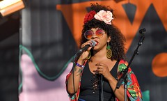 374-20180603_14th Wychwood Music Festival-Cheltenham-Gloucestershire-Main Stage-Hollie Cook Band-Hollie Cook (Nick Kaye) Tags: wychwood music festival cheltenham gloucestershire england