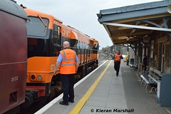 071 at Westport, 13/4/19 (hurricanemk1c) Tags: railways railway train trains irish rail irishrail iarnród éireann iarnródéireann 2019 generalmotors gm emd 071 retrotrain rpsi railwaypreservationsocietyofireland thewestawake westport 1540claremorriswestport