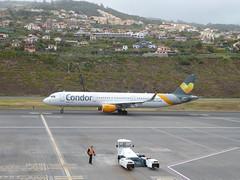 Airbus A321-211 - D-AIAD (jimcnb) Tags: flugzeugaircraftairplane geo:lat=3269365301 geo:lon=1677570262 geotagged santoantóniodaserra madeira portugal 2019 april
