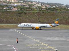 Airbus A321-211 - D-ATCE (jimcnb) Tags: flugzeugaircraftairplane geo:lat=3269365301 geo:lon=1677570262 geotagged santoantóniodaserra madeira portugal 2019 april
