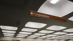 Law Library. Monash University, Clayton (Josh Khaw) Tags: law library legislation university campus monash melbourne australia building interior architecture signage ceiling civic space