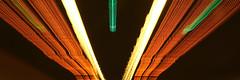 Burnley Tunnel, Melbourne (Josh Khaw) Tags: tunnel light car night sign traffic shutter slow road melbourne australia