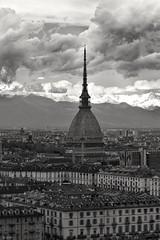 Turin in Black and white. (giuselogra) Tags: blackandwhite torino turin piedmont piemonte italy italia moleantonelliana