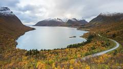 Automn Athmosphere (**Meg's Photos**) Tags: norvège bergsbotn troms senja bergsbotnutsiktsplattform norway berg