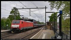 DBC 189 051, Arnhem Velperpoort - 27-04-2019 (Teun Lukassen) Tags: dbc br189 189 051 openlucht staalrollen treinen züge trains arnhem velperpoort koningsdag 2019