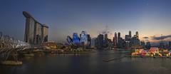 City Lights (joyhhs) Tags: 2019 february singapore panorama marinabayfront marinabaysands landscape canon on1 photography