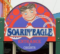 Coney Island - Soaring Eagle (Stabbur's Master) Tags: amusementpark themepark nyc newyork newyorkcity brooklyn lunapark coneyisland soaringeagle rollercoaster