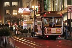 San Francisco - Cable Car (Ollies99) Tags: san francisco cable car night city transport nacht stadt california kalifornien amerika america usa us hotel stratford