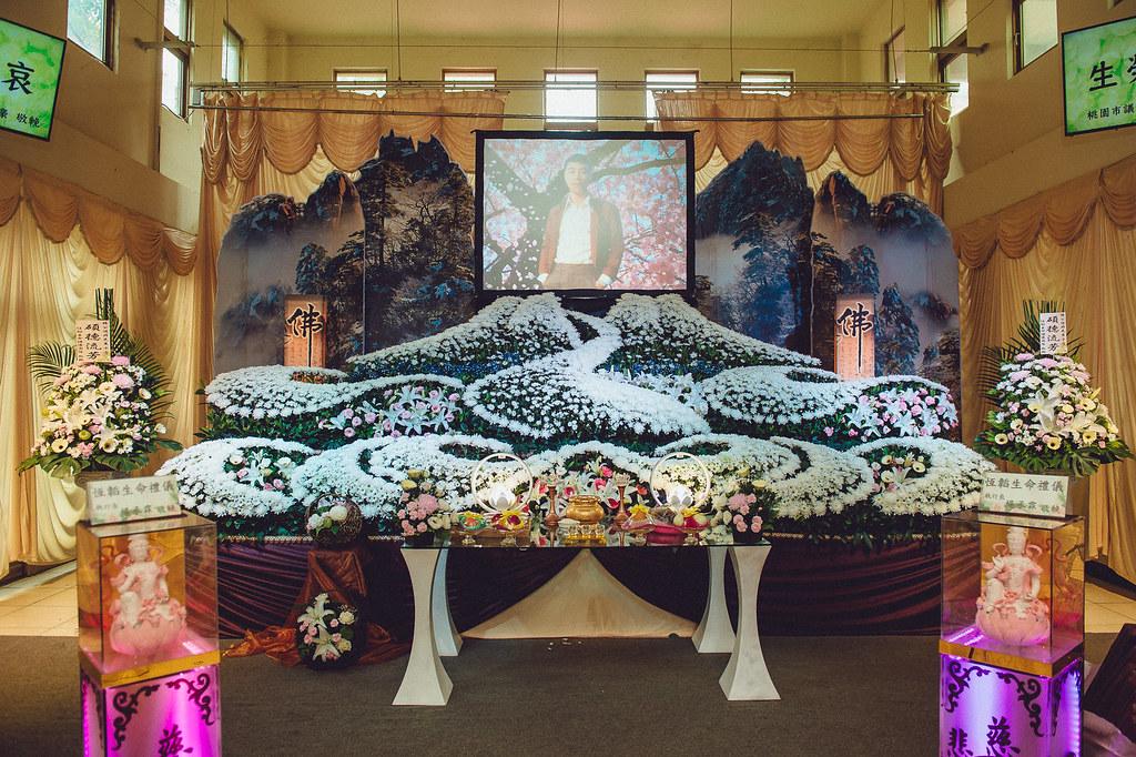《喪禮攝影》御奠園淨界紀念會館 / 追賢廳 / 張奠