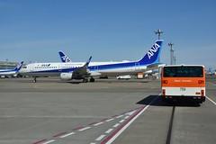 (yuki_alm_misa) Tags: boeing aircraft 全日空 plane 飛行機 airplane b767 b767300er ana 東京国際空港 航空機 羽田 rjtt hnd 羽田空港 haneda aeroplane tokyointernationalairport