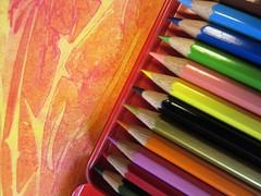 bunte Stifte (hussi48) Tags: hobby zeichnen stifte buntstifte bunt farbe lookingcloseonfriday