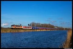 Railexperts 9901, Halfweg 16-02-2018 (Henk Zwoferink) Tags: bte bahntouristikexpress rxp railexperts 9901 ns1600 alstom henkzwoferink alpenexpress ae treinreiswinkel amsterdamnoordhollandnetherlands