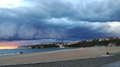 Atardecer en Ereaga (eitb.eus) Tags: eitbcom 38515 g1 tiemponaturaleza tiempon2019 playa bizkaia getxo patxixabierbarrenaarroniz