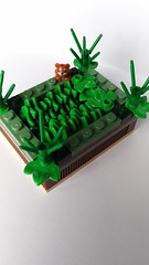 Raised Bed (squad_productions501) Tags: lego moc squadproductions 501 plants bed raised salat