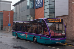 Warrington's Own Buses YJ13HKF (Mike McNiven) Tags: warringtonsownbuses warrington networkwarrington interchange leghstreet lousherlane westy optare versa connect17