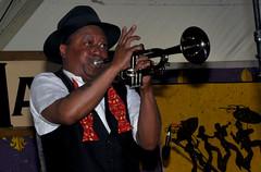 kermit (greenelent) Tags: kermitruffins jazzfest neworleansjazzandheritagefestival music festival neworleans nola people 365 photoaday