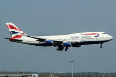 G-CIVE (PlanePixNase) Tags: london heathrow lhr egll planespotting airport aircraft britishairways british jumbo boeing 747 747400