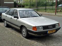 1985 Audi 100 (harry_nl) Tags: netherlands nederland 2019 nieuwegein audi 100 15pkt9 sidecode7