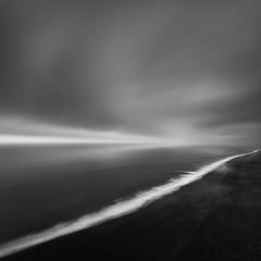 Black sand beach (frodi brinks photography) Tags: iceland beach blackwhitephotos photography landscape