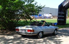 1971 Mercedes-Benz 350 SL (R107) (rvandermaar) Tags: 1971 mercedesbenz 350 sl r107 mercedesbenz350sl mercedesbenzr107 mercedessl mercedesbenzsl mercedes350sl mercedesr107 w107 mercedes sidecode1 import al5681