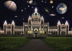 One Year on Flickr: an out of this world experience! (Brandon Godfrey) Tags: world pictures africa city longexposure wallpaper urban mars moon canada fountain grass night stars landscape photography crazy scenery europe flickr cityscape bc time photos pics earth britishcolumbia edited sony scenic free parliament astronaut scene victoria canadian symmetry galaxy creativecommons pacificnorthwest northamerica addicted saturn outerspace legislature hdr outofthisworld a300 oneyearonflickr photomatix tonemapped tonemapping sonya300 photoshopelements7