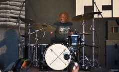 385-20180603_14th Wychwood Music Festival-Cheltenham-Gloucestershire-Main Stage-Feeder-drums (Nick Kaye) Tags: wychwood music festival cheltenham gloucestershire england