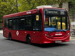 What happens when an operator screws up its initial order for new buses and has to rely on cast-offs. Metroline London ADL Enviro 200 working the 393 to Clapton Pond. (alexpeak24) Tags: lk62dao claptonpond chalkfarm 393 enviro200 alexanderdennis london metroline