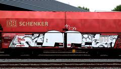 Graffiti on Freights (wojofoto) Tags: amsterdam nederland netherland holland graffiti streetart cargotrain vrachttrein freighttraingraffiti freighttrain freights fr8 wojofoto wolfgangjosten noeb noob