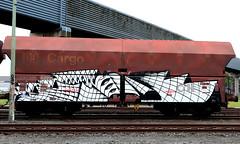 Graffiti on Freights (wojofoto) Tags: amsterdam nederland netherland holland graffiti streetart cargotrain vrachttrein freighttraingraffiti freighttrain freights fr8 wojofoto wolfgangjosten oak darkoak