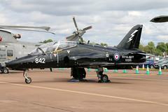 XX205_01 (GH@BHD) Tags: xx205 hawkersiddeley hs britishaerospace bae hawk hawkt1 rn royalnavy military aircraft aviation trainer fighter riat riat2017 royalinternationalairtattoo raffairford fairford