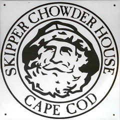 SKIPPER CHOWDER HOUSE (Timothy Valentine) Tags: squaredcircle 0419 capecod large restaurant chowder capecodcanal sign 2019 atethere southyarmouth massachusetts unitedstatesofamerica