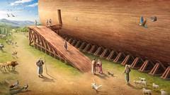 Dio intende distruggere il mondo con un diluvio, ordina a Noè di costruire un'arca (eshao5721) Tags: arca noè lachiesadidioonnipotente dioonnipotente salvezzadidio amoredidio