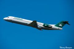 [CDG] Carpatair Fokker F100 _ YR-FZA (thibou1) Tags: thierrybourgain spotting aircraft airplane nikon d810 tamron sigma carpatair fokker f100 yrfza cdg lfpg takeoff