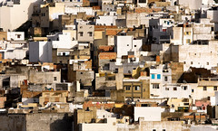 Building Blocks (Trouvaille Blue) Tags: africa morocco maroc moulayidriss city houses puzzle trouvailleblue