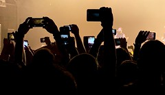 concerts nowadays (Zunkkis) Tags: concert phone phones screen live skillet