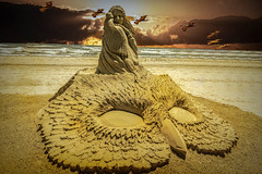 Sandfest 2019 (Jims_photos) Tags: sandfest2019 portaransastexas sandcastle water texas topazstudio topazlabssoftware topazsoftware topazlabs texascoast unitedstates outdoor outside ocean adobelightroom adobephotoshop shadows sunnyday sunrise slidersunday daytime gulfofmexico jimallen jimsphotos jimsphotoswimberleytexas lightroom cloudy clouds coastalscene nopeople nikond750 morninglight