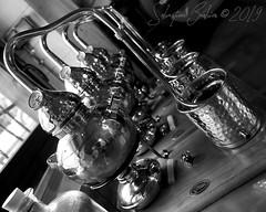 Distillerie Straw Bale P1190325_Mini_NB_WM (Twilight'Zone) Tags: distillerie strawbale vacquiers