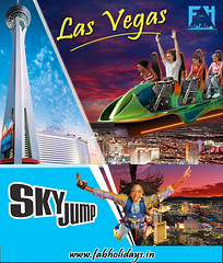 Experience The 'Sky Jump' at Stratosphere Tower, Las Vegas (fabholidays) Tags: