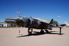 Hawker Siddeley GR.3 Harrier (s81c) Tags: aircraft airplane militaryaviation hawkersiddeleygr3harrier hawkersiddeley pimaairspacemuseum tucson arizona usa